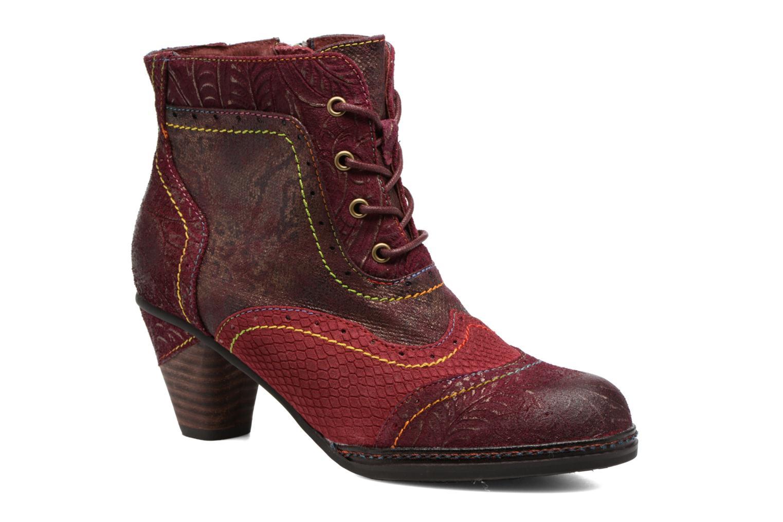 Boots en enkellaarsjes Laura Vita Alizee 30 Bordeaux detail