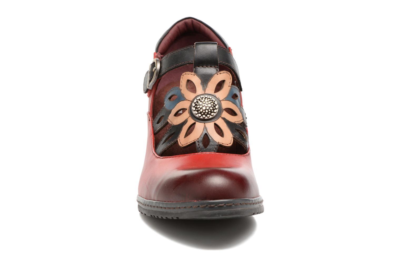 Escarpins Laura Vita Alissa 07 Rouge vue portées chaussures