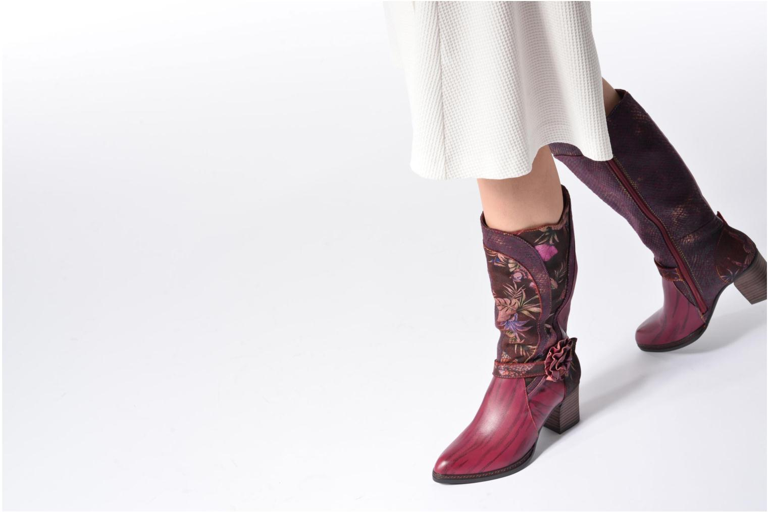 Boots & wellies Laura Vita Celia 02 Blue view from underneath / model view