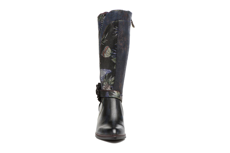Boots & wellies Laura Vita Celia 02 Blue model view