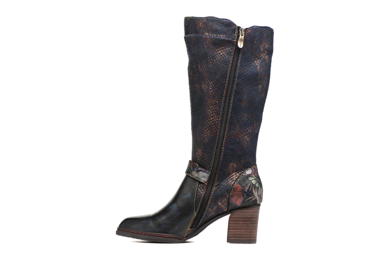 Boots & wellies Laura Vita Celia 02 Blue front view
