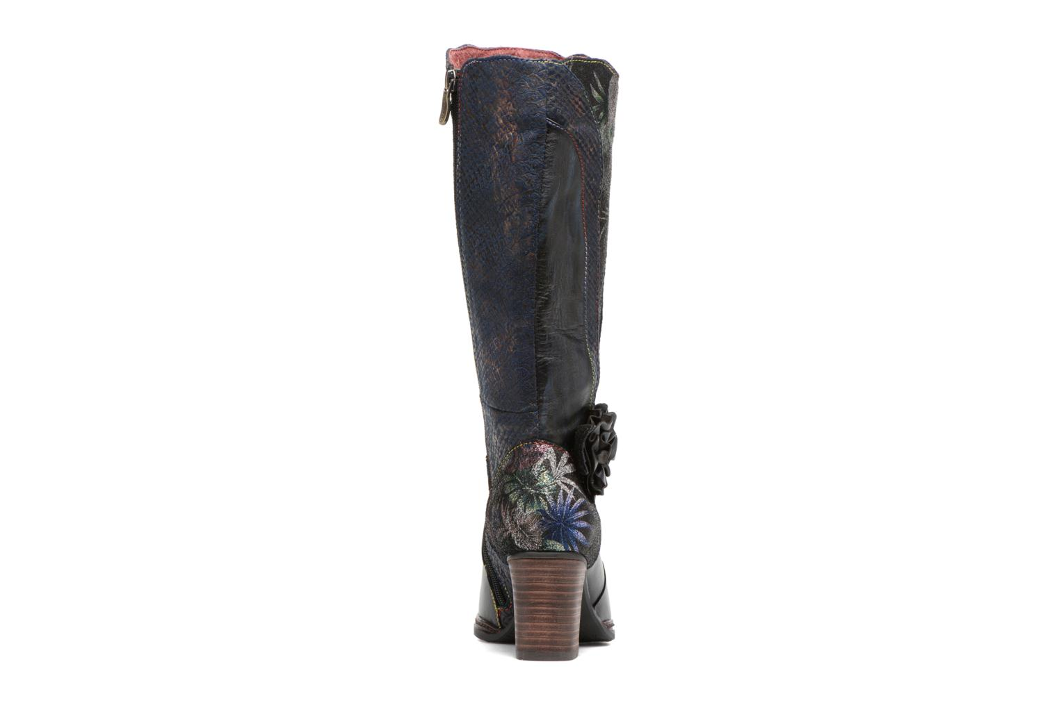 Boots & wellies Laura Vita Celia 02 Blue view from the right