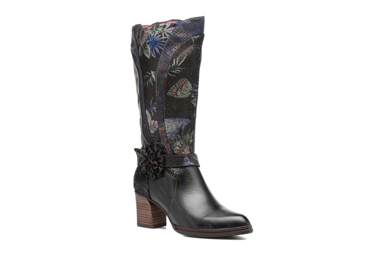 Boots & wellies Laura Vita Celia 02 Blue detailed view/ Pair view