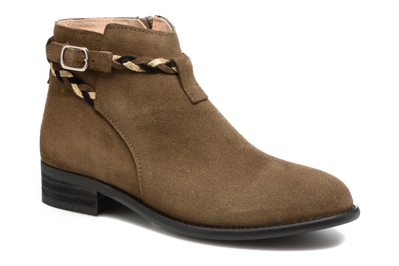 Boots en enkellaarsjes Yep Pietra Groen detail