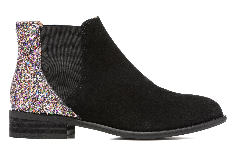 Boots en enkellaarsjes Yep Rachelle Zwart achterkant