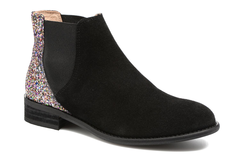 Boots en enkellaarsjes Yep Rachelle Zwart detail