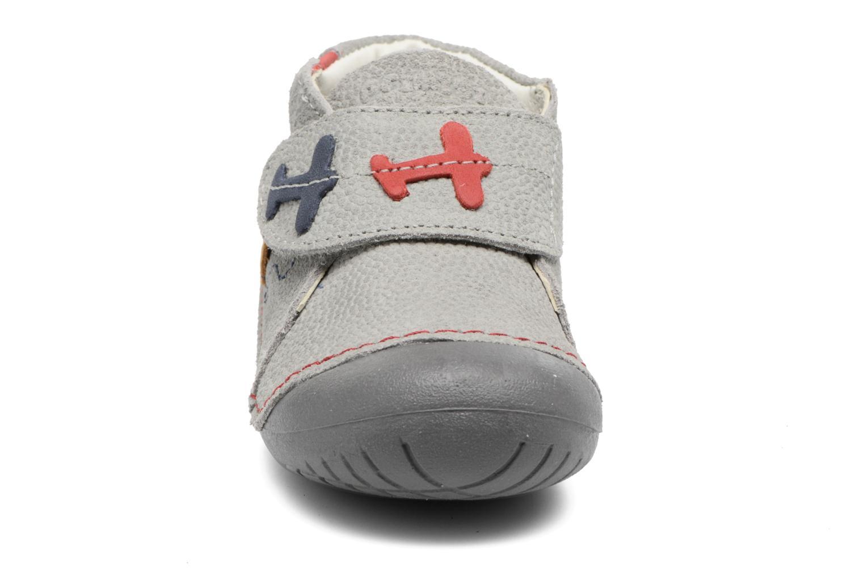 Chaussures à scratch Primigi Tore Gris vue portées chaussures