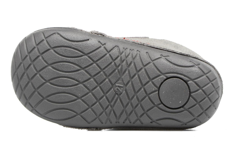 Chaussures à scratch Primigi Tore Gris vue haut