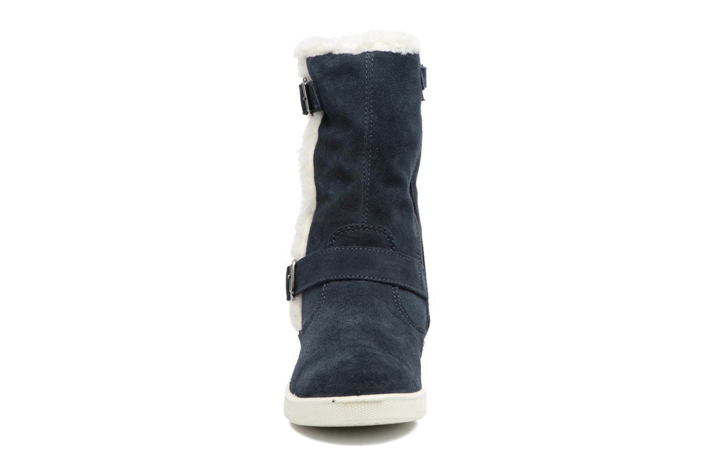 Bottes Primigi Mariosa Bleu vue portées chaussures