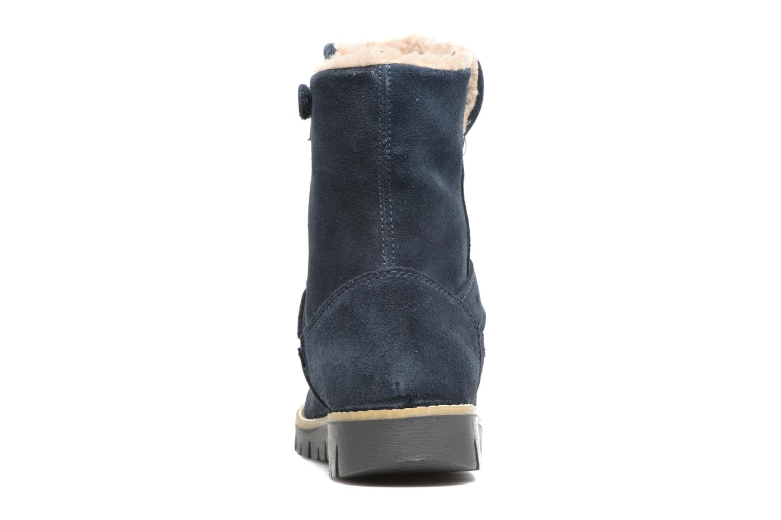 Ankle boots Primigi Ilenia Blue view from the right