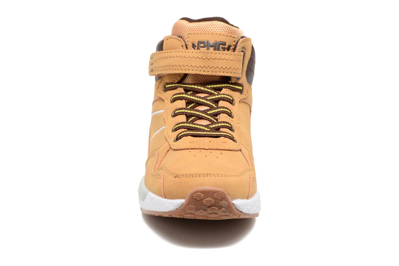 Baskets Primigi Vittorio Marron vue portées chaussures