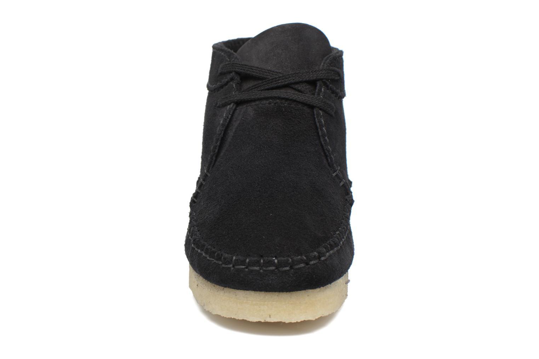 Bottines et boots Clarks Originals WEAVER BOOT W Noir vue portées chaussures