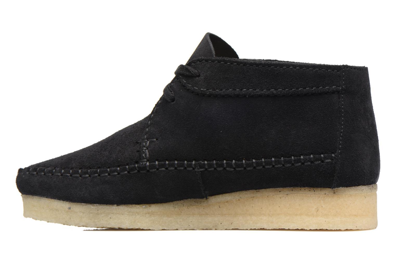 Stiefeletten & Boots Clarks Originals WEAVER BOOT W schwarz ansicht von vorne