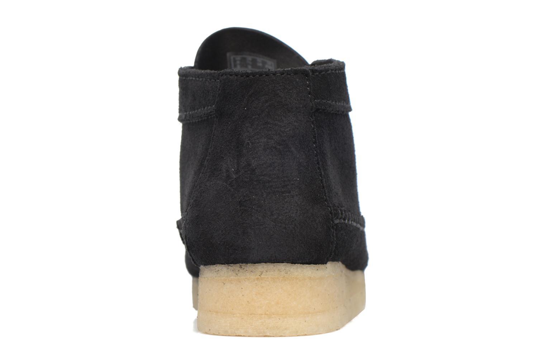 Stiefeletten & Boots Clarks Originals WEAVER BOOT W schwarz ansicht von rechts