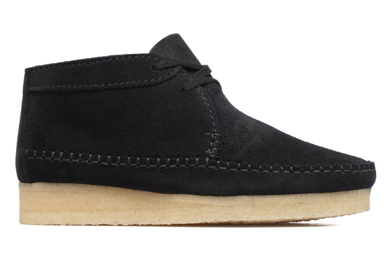 Stiefeletten & Boots Clarks Originals WEAVER BOOT W schwarz ansicht von hinten