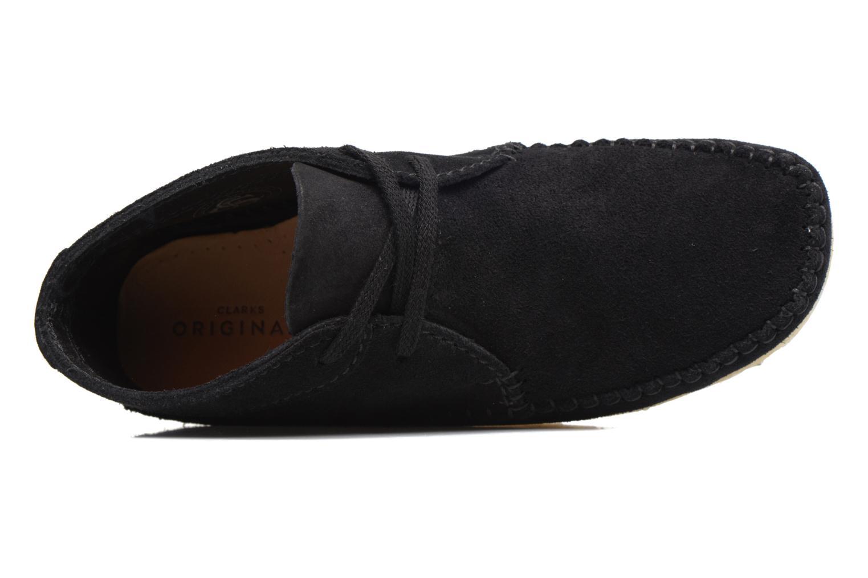 Stiefeletten & Boots Clarks Originals WEAVER BOOT W schwarz ansicht von links