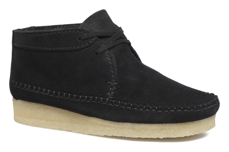 Stiefeletten & Boots Clarks Originals WEAVER BOOT W schwarz detaillierte ansicht/modell