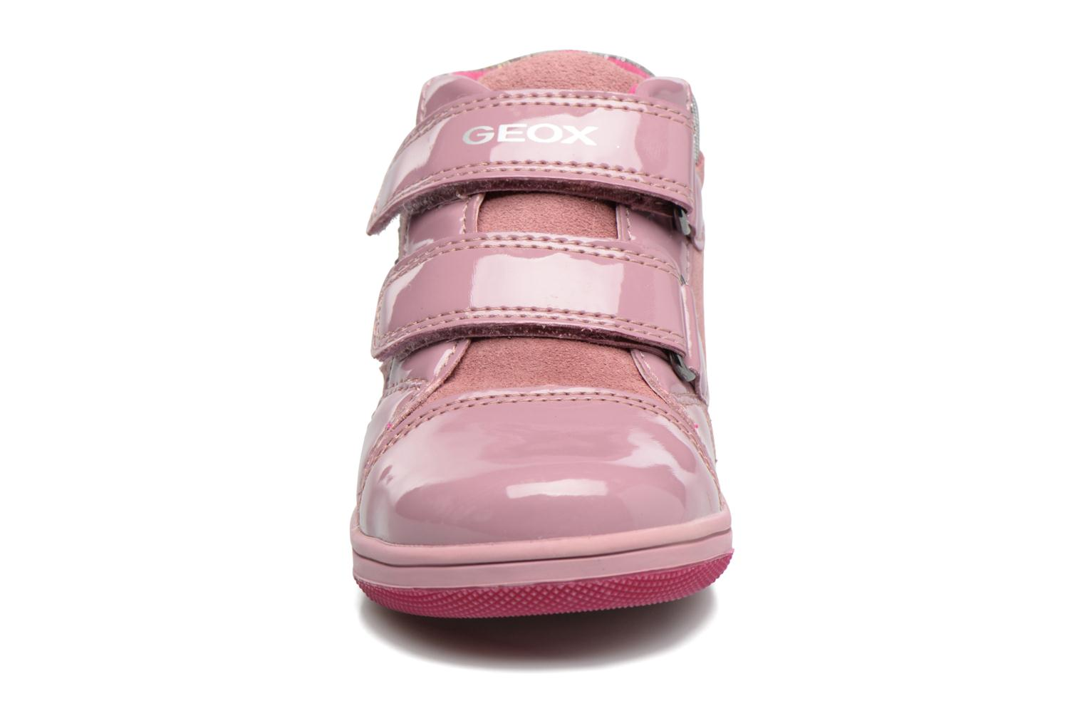 Trainers Geox B New Flick G. E B741HE Pink model view