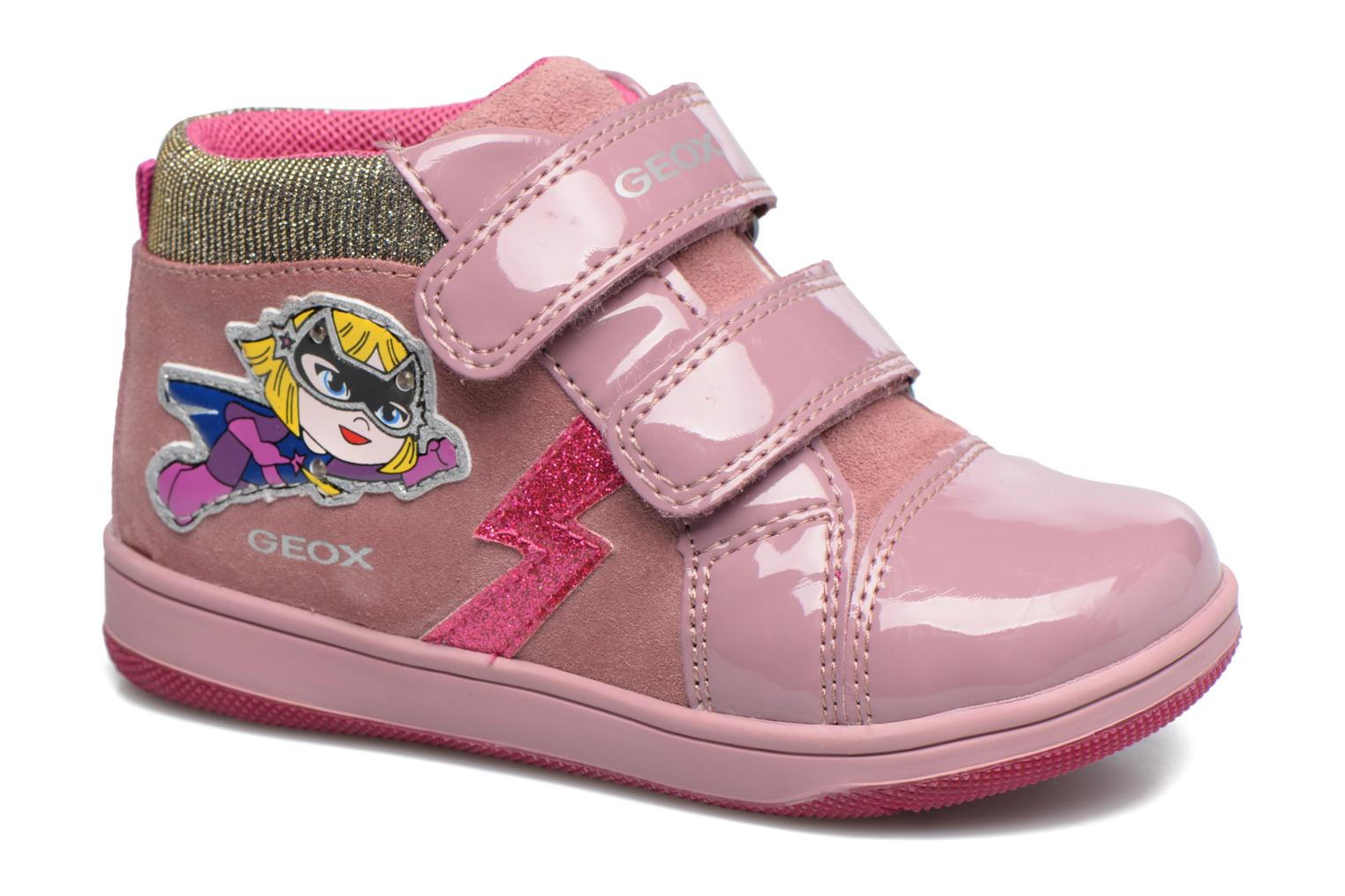 Trainers Geox B New Flick G. E B741HE Pink detailed view/ Pair view