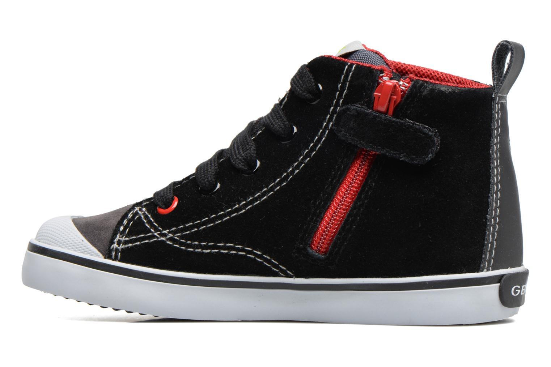 Sneakers Geox B Kiwi B. C B74A7C Nero immagine frontale