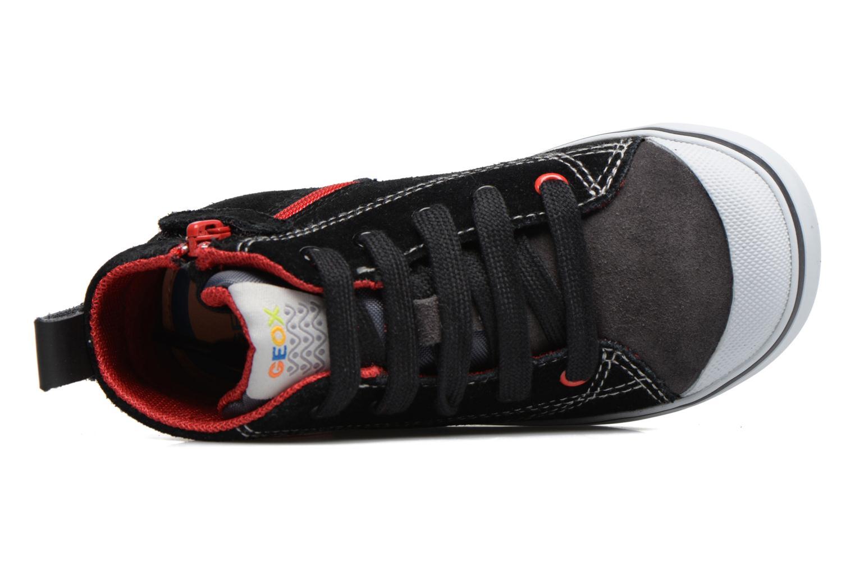 Sneakers Geox B Kiwi B. C B74A7C Nero immagine sinistra