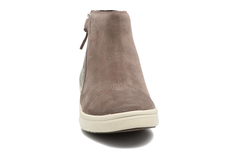Bottines et boots Geox J Aveup G. B J741ZB Beige vue portées chaussures