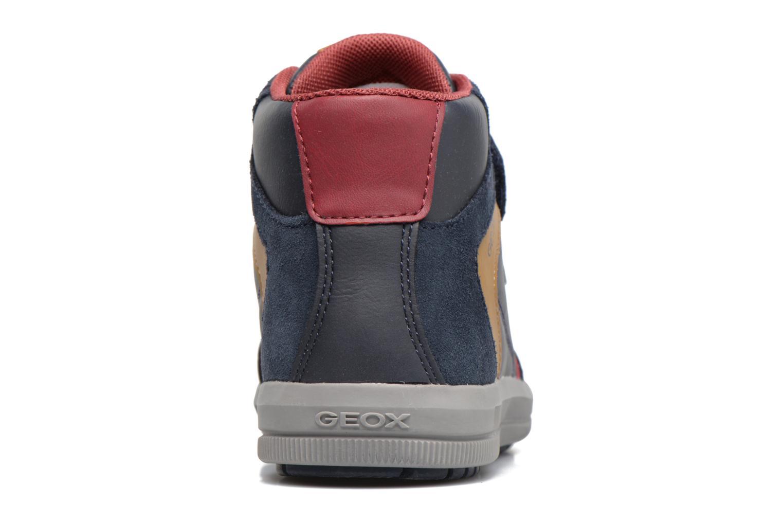 Sneakers Geox J Arzach B. B  J744AB Blauw rechts
