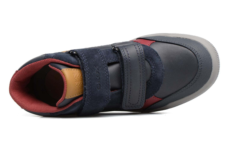 Sneakers Geox J Arzach B. B  J744AB Blauw links