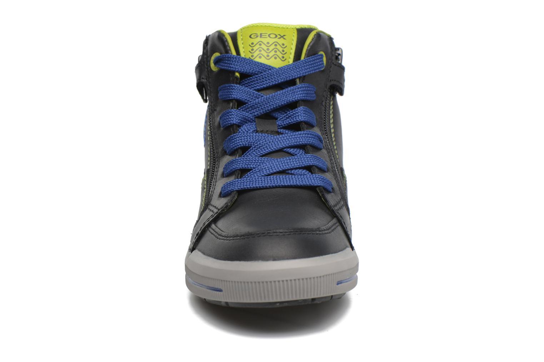 Baskets Geox J Arzach B. F  J744AF Noir vue portées chaussures