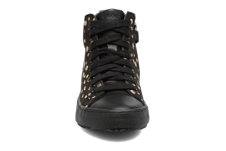 Baskets Geox J Kalispera G.B J744GB Noir vue portées chaussures