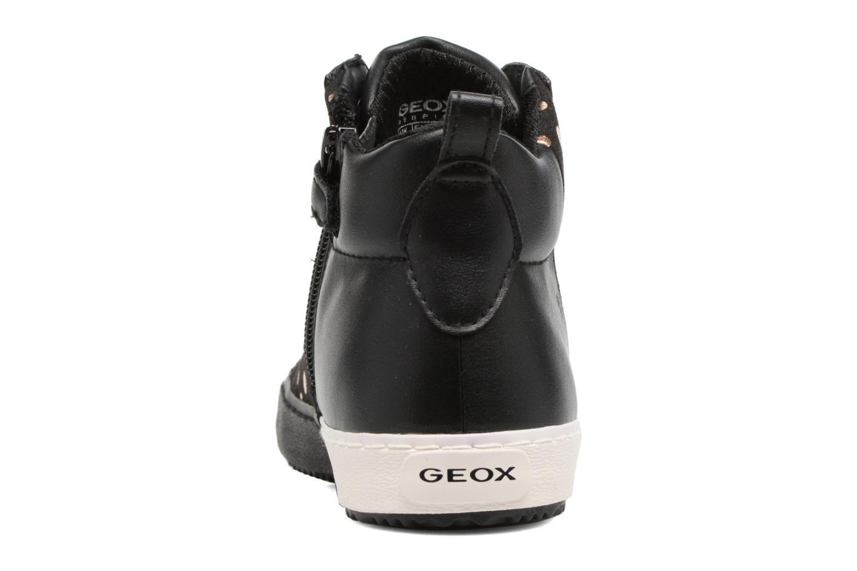 Baskets Geox J Kalispera G.B J744GB Noir vue droite