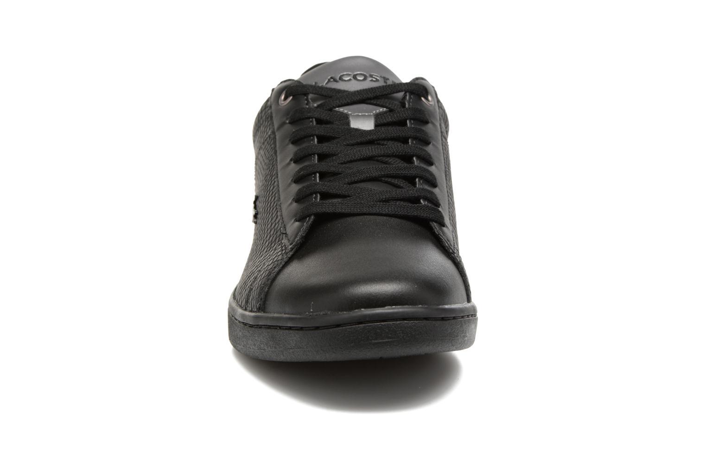 Baskets Lacoste CARNABY EVO 417 2 Noir vue portées chaussures