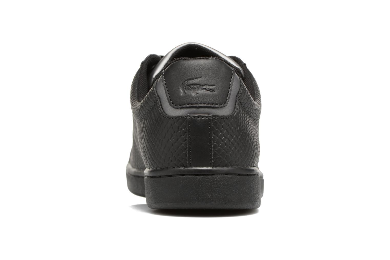 Baskets Lacoste CARNABY EVO 417 2 Noir vue droite