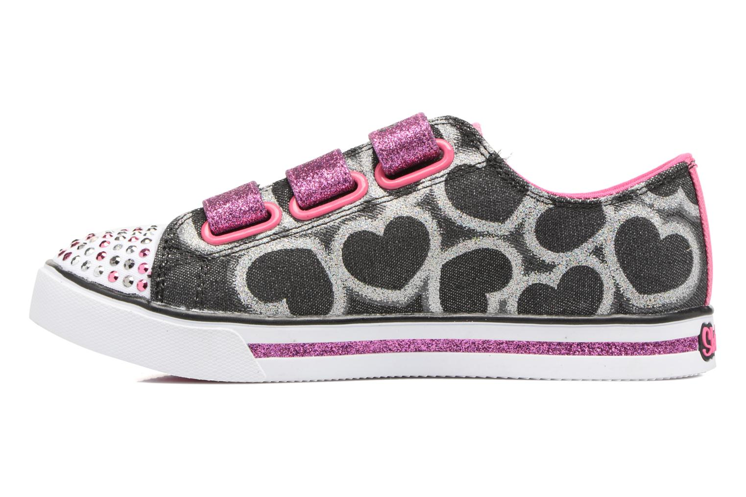 Baskets Skechers Sparkle Glitz Heartsy Glam Multicolore vue face