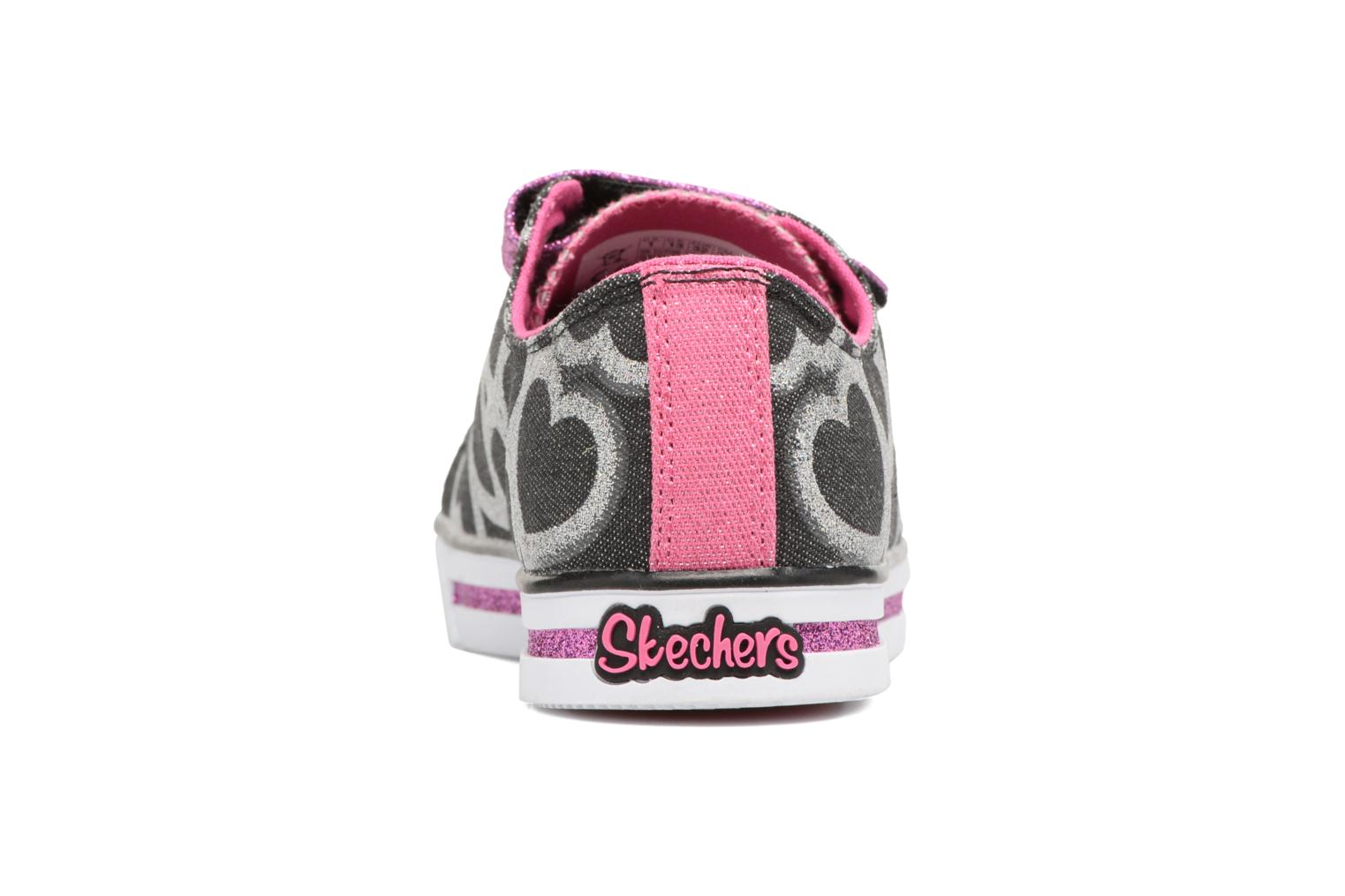 Baskets Skechers Sparkle Glitz Heartsy Glam Multicolore vue droite