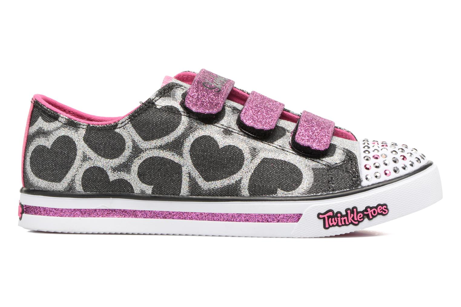 Baskets Skechers Sparkle Glitz Heartsy Glam Multicolore vue derrière