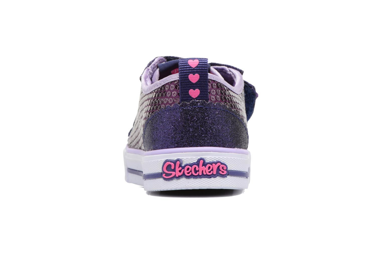 Baskets Skechers Shuffles Itsy Bitsy Violet vue droite