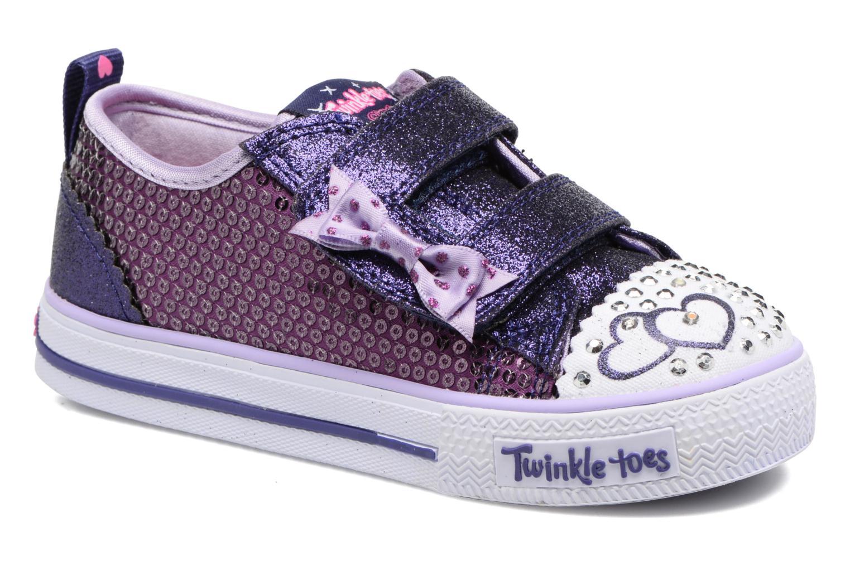 Baskets Skechers Shuffles Itsy Bitsy Violet vue détail/paire