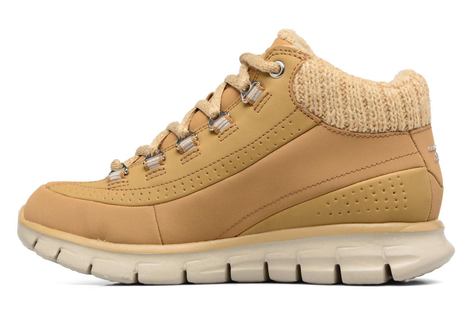 Bottines et boots Skechers Synergy Strong Will Beige vue face