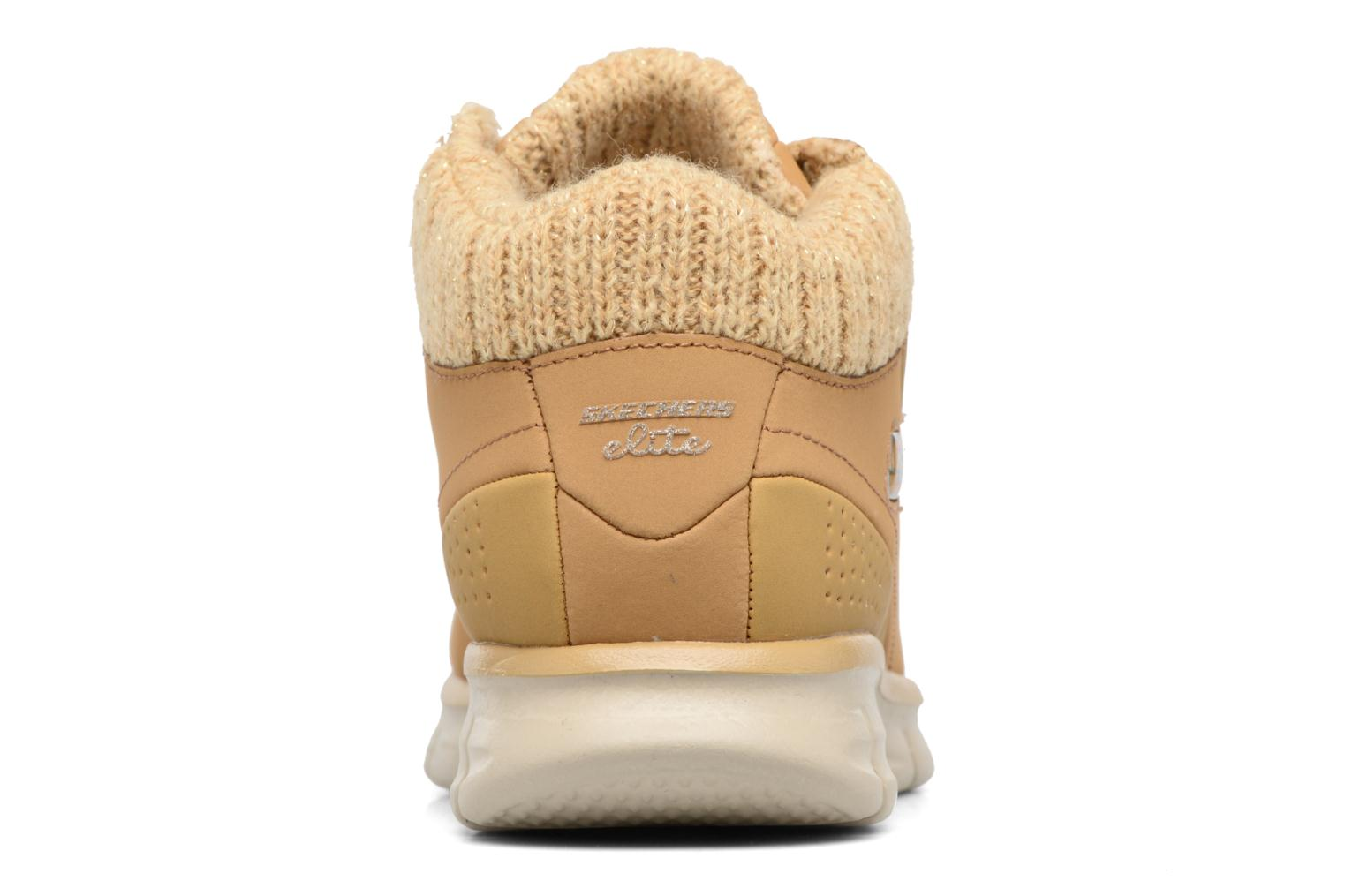 Bottines et boots Skechers Synergy Strong Will Beige vue droite