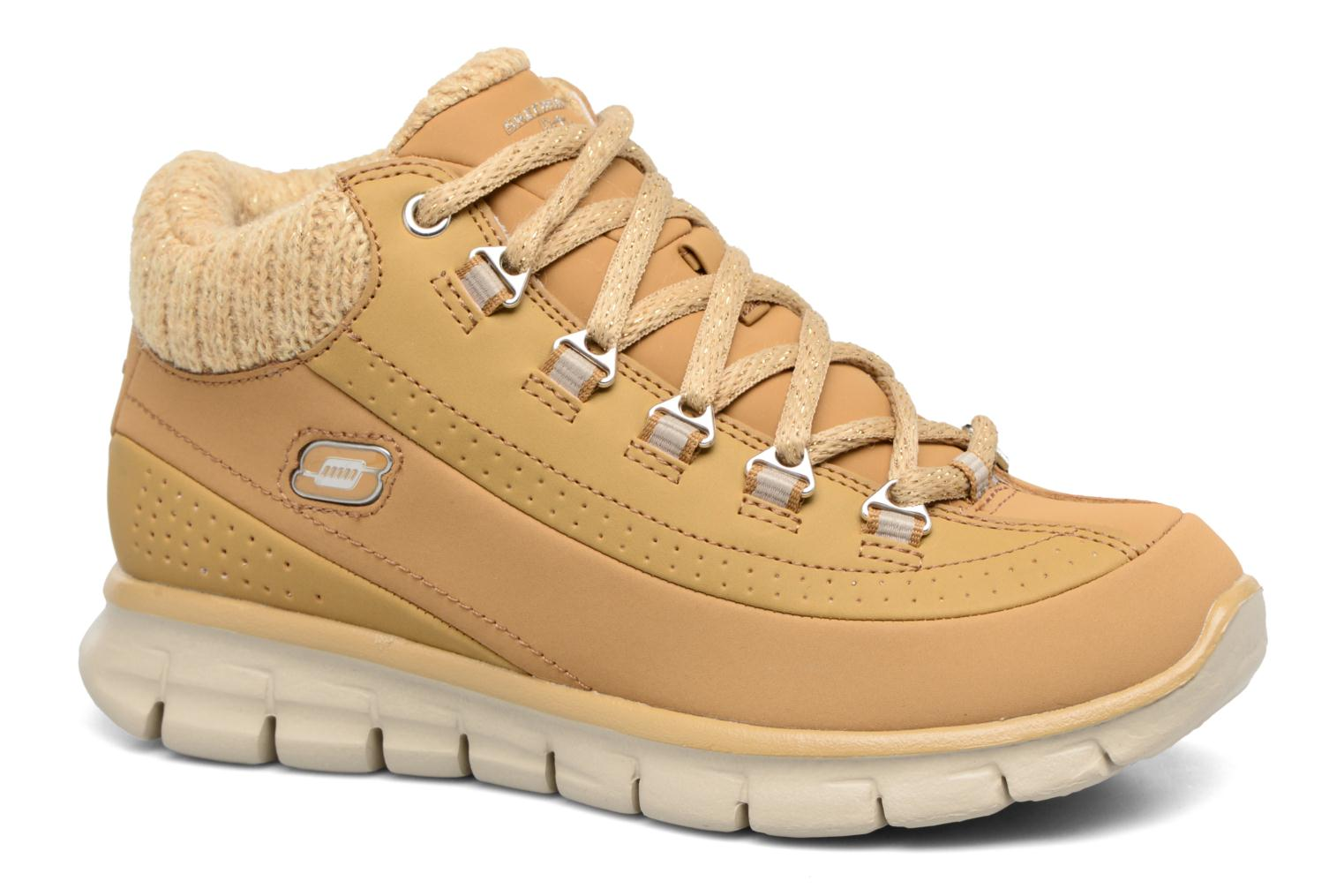 Bottines et boots Skechers Synergy Strong Will Beige vue détail/paire