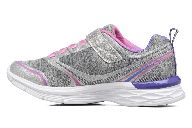 Chaussures de sport Skechers Dream N'Dash Peppy Prance Gris vue face