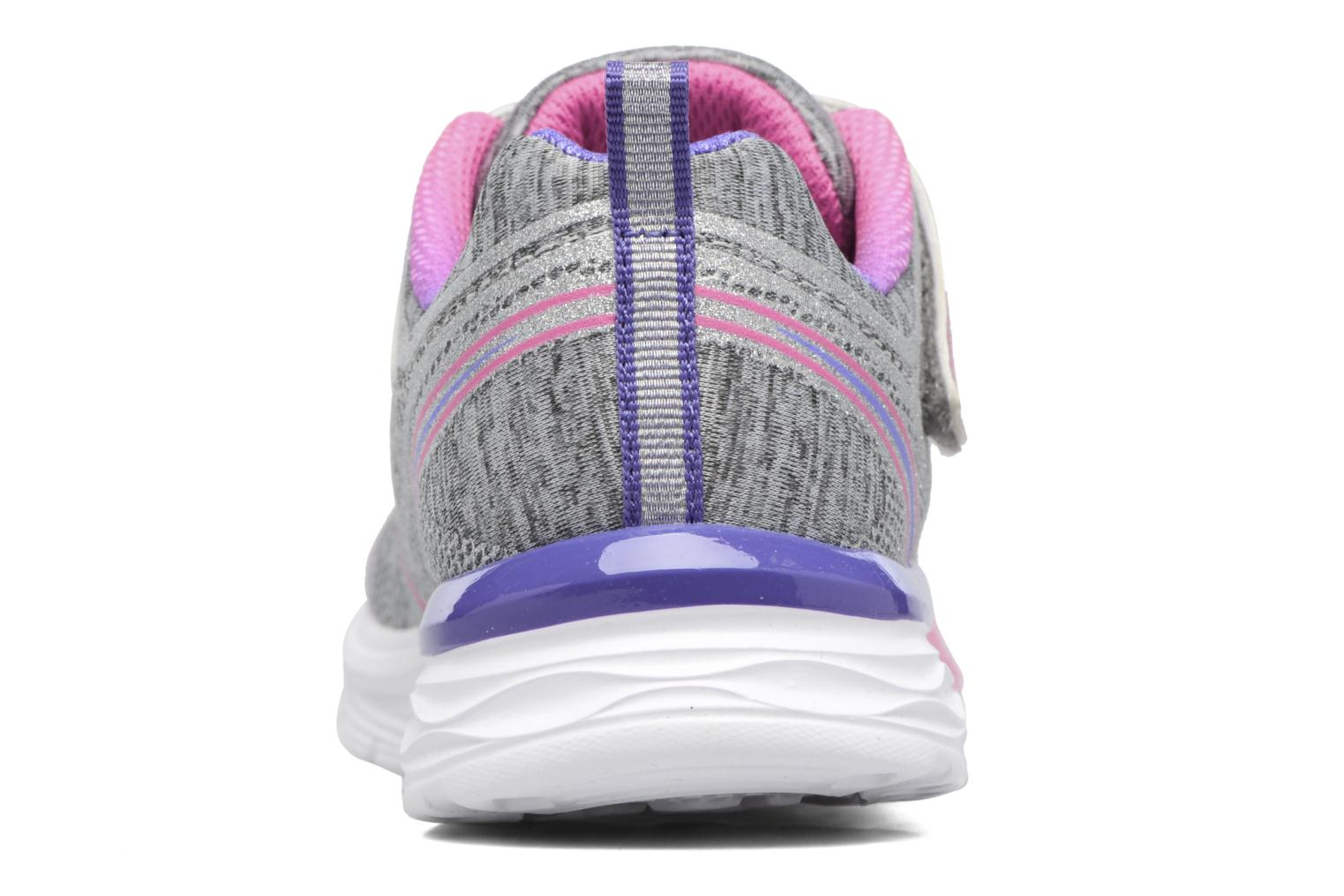Sport shoes Skechers Dream N'Dash Peppy Prance Grey view from the right