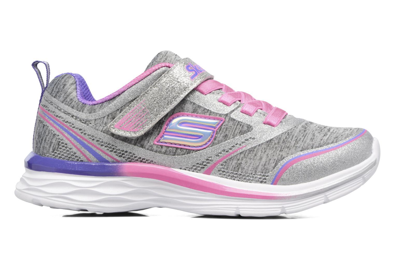 Sport shoes Skechers Dream N'Dash Peppy Prance Grey back view