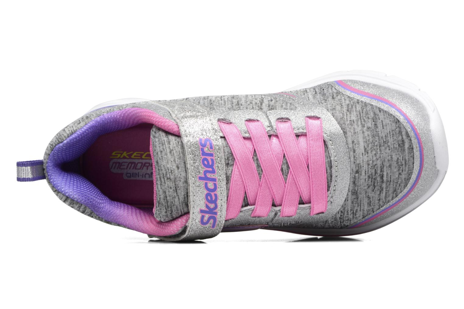 Sport shoes Skechers Dream N'Dash Peppy Prance Grey view from the left