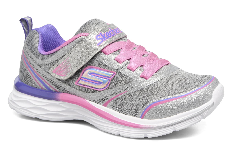 Chaussures de sport Skechers Dream N'Dash Peppy Prance Gris vue détail/paire