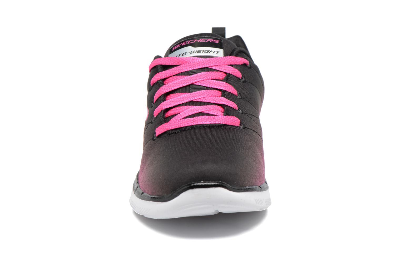 Chaussures de sport Skechers Skech Appeal 2.0 Bright Side Noir vue portées chaussures