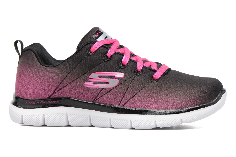 Chaussures de sport Skechers Skech Appeal 2.0 Bright Side Noir vue derrière