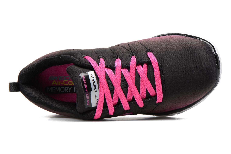 Chaussures de sport Skechers Skech Appeal 2.0 Bright Side Noir vue gauche