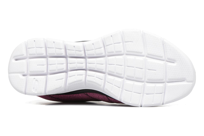 Chaussures de sport Skechers Skech Appeal 2.0 Bright Side Noir vue haut